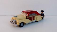 1948 Chevrolet Fleetline Aerosedan (LegoEng) Tags: 1948 chevrolet aerosedan fleetline american america 1940s 1950s legoeng lego