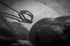 End Of The Day (Ren-s) Tags: pince painauchocolat croissant pliers boulangerie baker bakery bakersshop bokeh flou outoffocus pastry patisserie viennoiserie sweet sucre sugar white black bw blackandwhite noir noiretblanc blanc noirblanc blackwhite olympus em10 m1442mm f3556 ii r shop miette crumbs vide empty basket panier food nourriture foodstuff aliment pâte dough metal brillant shiny métal papier paper belgique belgium bruxelles brussels europe omd depthoffield bnw