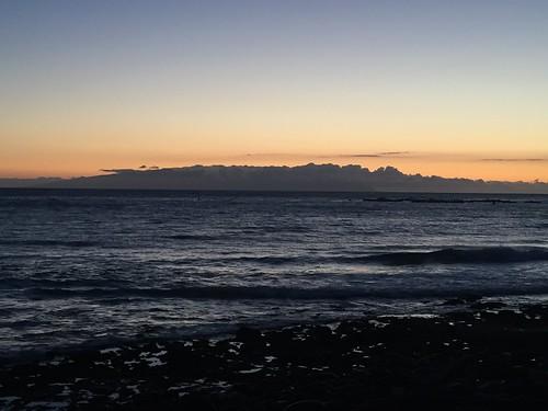 La Gomera desde el Palm mar