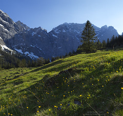 Spring at Hohljoch (Bernhard_Thum) Tags: bernhardthum thum dreizinkenspitze hohljoch spring nature h6d100 hc3550ii karwendel elitephotography capturenature landscapesdreams