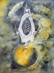 Remedios Varo Versión (benilder) Tags: remediosvaro reloj clock watercolor watercolour version surrealista aquarellebenilde