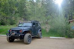 (ryountphotography) Tags: jeep jk jku extremeterrain xt barricade projectors 4wheel matteblack