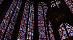 Sainte-Chapelle, glass