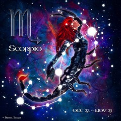 Zodiac - Scorpio (~Brenda-Starr~) Tags: may2017 zodiac scorpio starsign allrightsreserved