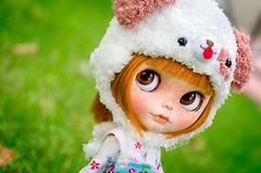 Mermelada (Alix Real) Tags: doll dolls custom ooak blythe laura diaz elitdolls chips godolls hat knit knitting knitted handmade