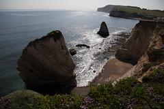 The Mermaid & Stag Rocks, Freshwater* (Carneddau) Tags: chaletofreshwater freshwaterbay isleofwght isleofwightcoastpath mermaidrock stagrock tennysondown england unitedkingdom