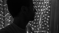 Nosce te ipsum (simotringali) Tags: blackandwhite bw biancoenero boy man guy face window dark backlight mood thoughtful a7s sonyalpha7s alpha7 sony camera lens 2470 mind full head good silhuette silhouette black white profile afternoon freetime human closeup portrait house home town city life living live relax peace love quite quiet tranquillità finestra buio luce light sun street road downstairs up sky lowlight iso sensibility lowiso asa blacks