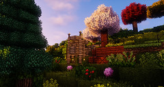 Minecraft (GameVogue) Tags: minecraft shaders mods modded chocapic chocapic13 massivecraft