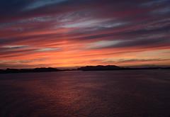 Norway sunset (Lee1885) Tags: norway sunset fjords water sea night sky sun cloud nikon d7100