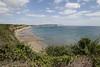 Sandown & Bembridge Down from Luccombe (Carneddau) Tags: culvercliff isleofwght isleofwightcoastpath sandownbay sandownpier sandowntoventnor shanklin beach england unitedkingdom