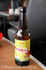 Virgin Trains East Coast Hop on Board ale, brewed by Rudgate Brewery, York (Ray's Photo Collection) Tags: ecml train virgin beer bottle hoponboard ale rudgate brewery york virgintrainseastcoast