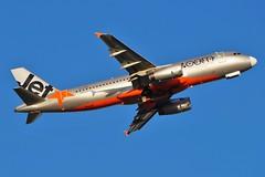 VH-VFD Jetstar Australia Airbus A320-232 (johnedmond) Tags: perth ypph australia airbus a320 jetstar aviation aircraft aeroplane airplane sel55210 55210mm sony golden hour light ilce3500