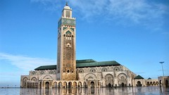 Hassan II Mosque - Casablanca, Morocco (asithmohan29) Tags: httpbitly2qutc64 httpdailyx5oairu hassaniimosque africa arabicarchitecture bigmosque buildingfunction buildingsandstructures casablanca costaserena hassan islamincasablanca islamicarchitecture maroc marokko marrocos moroccotouristplaces moschea moschee mosques mosquesincasablanca placeofworship thingstodoinmorocco tourism touristplaces h travel travelvlog