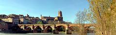 albi_cathédrale-5 (xtrice) Tags: panoramique albi pontneuf tarn ubuntu hugin gimp