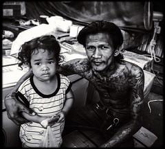 Yaowarat street portrait (Julien Cha.) Tags: chinatown bangkok tattoo yaowarat krungthep streetportrait streetofthailand