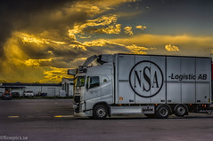 NSA (johan.bergenstrahle) Tags: 2017 finepics ume㥠volvo fordon hdr june juni lastbil morgon morning nsa sommar summer sverige sweden truck vehicle