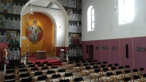 14-Nothelfer-Kapelle im Kloster Jakobsberg #rlperleben #Rheinhessen