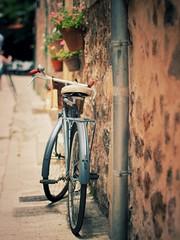Just an ordinary bike (VintageLensLover) Tags: md5012 rokkor minolta m43 omd olympus sommer spain tramuntana valldemossa mallorca bike fahrrad