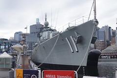 HMAS Vampire (coghilla) Tags: hmas vampire destroyer australian national maritime museum sydney nsw anmm d11 royal navy military