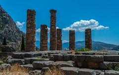 Temple of Delphi (TheBoutse) Tags: delphi temple greece ruins history ancient architecture landscape nature scenery