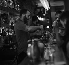 Andrew Rice, Attaboy, New York City, USA (Plan R) Tags: blackandwhite andrew rice attaboy new york cocktail bar leica m 240 noctilux 50mm
