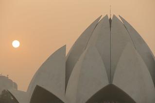 Lotus Temple, New Dehli, India
