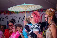 Honfest in Baltimore, Maryland (` Toshio ') Tags: toshio honfest baltimore maryland woman beehive hairdo umbrella celebration usa america contest fujixe2 xe2 hampden