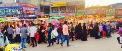 Street of Hyderabad in the Holy month of Ramadan. (Meraj.) Tags: woman festival charminar festivalpreparations streetshopping indian ramadan2017 appleiphone6s iphone6s iphone bangles asia ramzan shopping southindian street muslim deccan india hyderabad ramadan bazaar