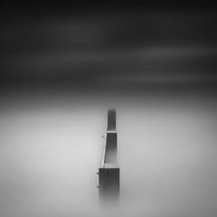 Eternity (paulantony2) Tags: monochrome minimalistic blackandwhite sea seascape water groyne fine art longexposure lee d7100 coast simple