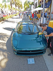 1993 Jaguar XJ220 (lucre101) Tags: cars show rodeo drive los angeles california fathers day beverly hills 1993 jaguar xj220 onlyonrodeo