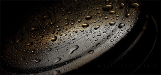 Patterns and Droplets In Darkness