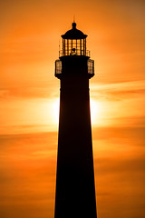 Sunset at CMLH 3-0 F LR 6-16-17 J277 (sunspotimages) Tags: sunsetssunrises sunrisesunset exquisitesunsets capemay seascape lighthouse newjersey nj building landscape