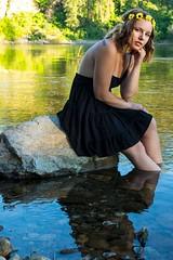 Kaitlin (austinspace) Tags: woman portrait corbin park post falls idaho sunset dusk spokane river hippie nature summer