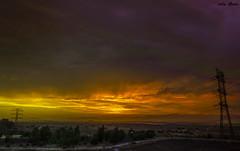 This is the end.... (Jotha Garcia) Tags: tormenta sturm storm tempête sky ciel himmel paisaje landscape landschaft paysage nikond3200 nikkor180550mmf3556 jothagarcia nubarrones nuagesdorage cloudysky bewölktenhimmel skyporn 2017 atardecer sunset dämmern daprèsmidi primavera spring printemps frühling junio juni juin june tormentadearena sandstorm tempêtedesable sandsturm españa spain spanien espagne alcobendas madrid thisistheend