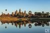 Angkor Wat at sunset (_damienroux_) Tags: angkorwat angkor sunset reflection reflect hindutemple buddhisttemple khmer siemreap cambodia southeastasia asia unesco worldheritage travel travelphotography travelpics travelblogger worldtrip