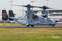 US Marines V-22 Osprey 07 YSSY-8430 (A u s s i e P o m m) Tags: v22 osprey v22osprey usmarines sydneyairport syd yssy mascot newsouthwales australia au