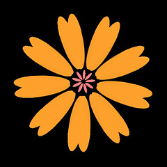 flower 431 icon (kwippe) Tags: icons clipart vector