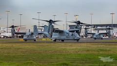 US Marines V-22 Osprey 07 YSSY-8395 (A u s s i e P o m m) Tags: v22 osprey v22osprey usmarines sydneyairport syd yssy mascot newsouthwales australia au