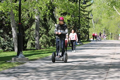 A day on 2 wheels in Calgary may 20th 2017 (davebloggs007) Tags: bikes bicycles calgary alberta canada segway