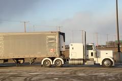 Saskatoon SK (Ian Threlkeld) Tags: trucks semi flyingj saskatoon trucking peterbilt