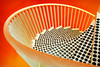Spiraling down (Robbez) Tags: orange spiraling stairs wenteltrap oranje
