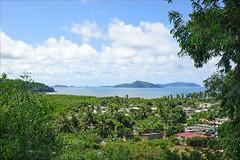 Le lagon à Dembéni (Mayotte)