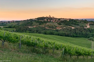 Sunset - San Gimignano