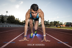 Book Dani Arce (Diego Herrera Audiovisuales) Tags: athletics atletismo atleta sport deporte fotoburgos fotodeportiva sportphoto luces atardecer tartan pista modelo new balance nike