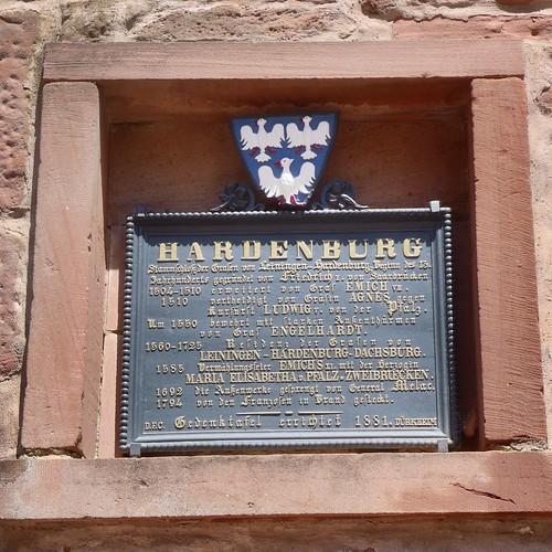 Flaggenturm, Hardenburg und Limburg