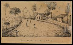 Route de Rio-vermeillo (Bahia) (BNDigital) Tags: choupana cabana negros escravos brasil