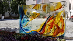 Kremsmünster - Austria (Been Around) Tags: oö ausstellung eu europe europa autriche garten garden oberösterreichischelandesgartenausstellung2017 benediktinerstiftkremsmünster kremsmünster oberösterreich kremstal upperaustria österreich austria glas glaskunst glass glasmalerei