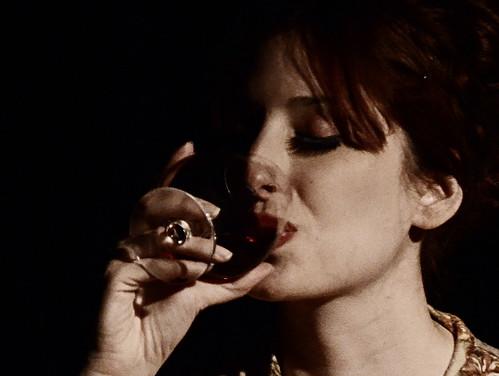La copa de vino