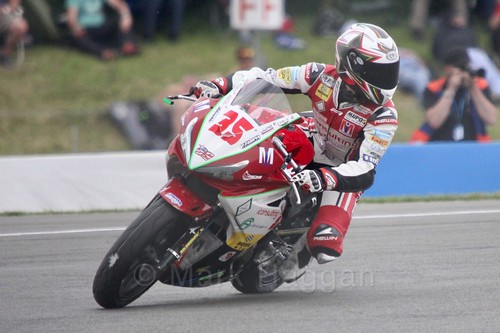 Alex Triglia in World Supersport 300 at Donington Park, May 2017