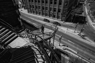 In this urban city / Quebec / Canada 2017